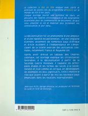 Decolonisation Et Emergence Du Tiers-Monde Le Bac En Tete Histoire - 4ème de couverture - Format classique