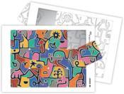 Puzzle à la manière de... ; Klee - Couverture - Format classique