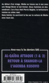 SAS t.78 ; la veuve de l'ayatollah - 4ème de couverture - Format classique