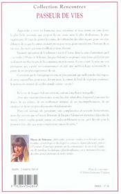 Passeur De Vies - 4ème de couverture - Format classique
