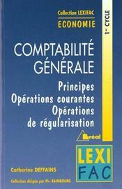 Comptabilite generale - Intérieur - Format classique