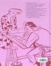 Monographies Yves Chaland : L'Enfance De L'Oeil - 4ème de couverture - Format classique
