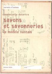 Savons Et Savonneries - Couverture - Format classique