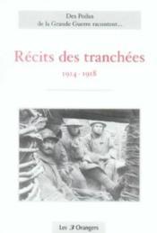 Recits Des Tranchees - Couverture - Format classique