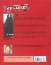Top secret - 4ème de couverture - Format classique