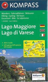 Lago Maggiore ; Lago Di Varese - Couverture - Format classique