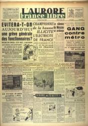 Aurore France Libre (L') N°1191 du 13/07/1948 - Couverture - Format classique