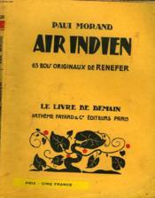 Air Indien. 63 Bois Originaux De Renefer. Le Livre De Demain N° 175. - Couverture - Format classique