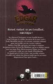 Edgar, Sacre Lascar T.1 ; Disputes Et Disparitions - 4ème de couverture - Format classique