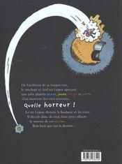 Qui Veut Botter Les Fesses Du Roi Lepou - 4ème de couverture - Format classique