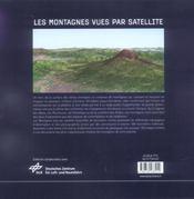 Les montagnes vues par satellite - 4ème de couverture - Format classique