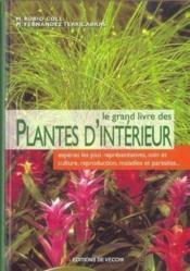 Grand Livre Des Plantes D'Interieur (Le) - Couverture - Format classique