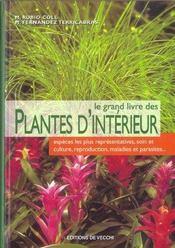 Grand Livre Des Plantes D'Interieur (Le) - Intérieur - Format classique