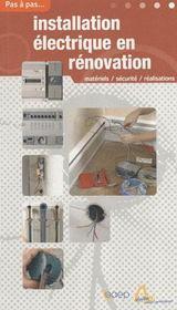 Installation électrique en rénovation - Intérieur - Format classique