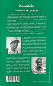 Une introduction à un voyage en Casamance ; Enampor, un village de riziculteurs en Casamance, au Sénégal - 4ème de couverture - Format classique
