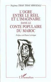 L'Ogre Entre Le Reel Et L'Imaginaire Dans Le Conte Populaire Du Maroc - Intérieur - Format classique