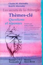 Secrets chirurgie themes - Couverture - Format classique