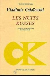 Nuits Russes (Les) - Couverture - Format classique