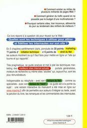 Internet Comment Augmenter Trafic Sur Son Site Et Gagner De L'Argent - 4ème de couverture - Format classique