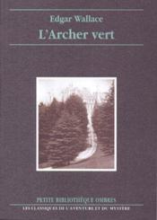 L'archer vert - Couverture - Format classique