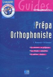 Prepa Orthophoniste 3eme Edition - Intérieur - Format classique
