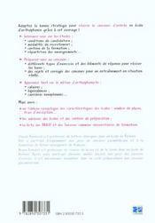 Prepa Orthophoniste 3eme Edition - 4ème de couverture - Format classique
