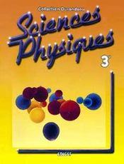 Sciences Physiques Durandeau 3e - Intérieur - Format classique
