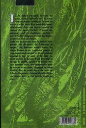 Le conte du charbonnier - 4ème de couverture - Format classique