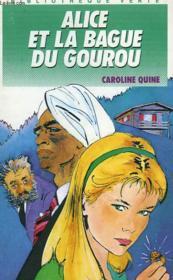 Alice Et La Bague Du Gourou - Couverture - Format classique