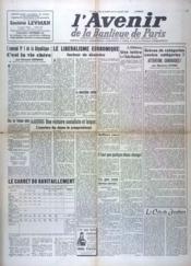 Avenir De La Banlieue De Paris (L') N°119 du 15/07/1948 - Couverture - Format classique