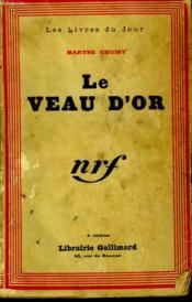 Le Veau D'Or. - Couverture - Format classique