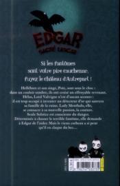 EDGAR, SACRE LASCAR T.2 ; fantômes et fantaisies - 4ème de couverture - Format classique