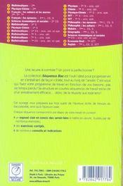 L'ecrit et l'oral au bac - 4ème de couverture - Format classique