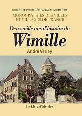 Wimille (Deux Mille Ans D'Histoire De) - Couverture - Format classique