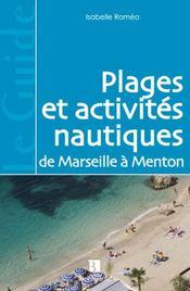 Plages et activites nautiques de Marseille a Menton - Intérieur - Format classique