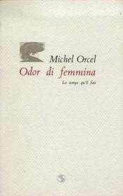 Odor Di Femina - Couverture - Format classique