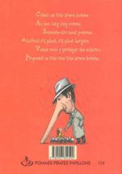 Poèmes sans que ni tête - 4ème de couverture - Format classique