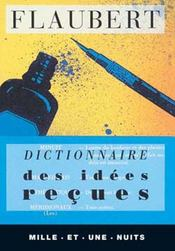 Dictionnaire des idées reçues - Intérieur - Format classique