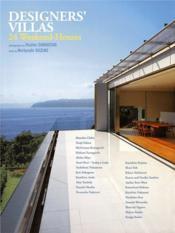 Designer'S Villas 24 Weekend Houses /Anglais/Japonais - Couverture - Format classique