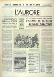 Aurore (L') N°9987 du 20/10/1976 - Couverture - Format classique