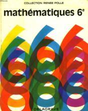 Mathematiques. Classe De Sixieme. - Couverture - Format classique