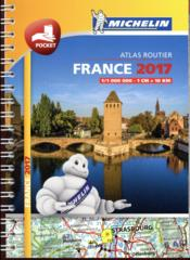 Vente livre :  Atlas routier France (édition 2017)  - Collectif Michelin