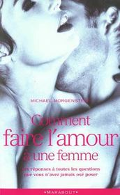 livre comment faire l 39 amour une femme michael morgenstern acheter occasion 1988. Black Bedroom Furniture Sets. Home Design Ideas