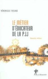 Le métier d'éducateur de la PJJ - Intérieur - Format classique