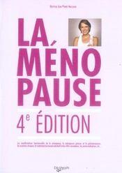 4e Edt La Menopause - Intérieur - Format classique