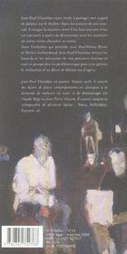 Jean-Paul Chambas - 4ème de couverture - Format classique