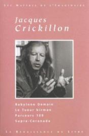 Crickillon ; Oeuvres Choisies - Couverture - Format classique
