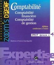 Comptabilite Dpecf 4 - Intérieur - Format classique