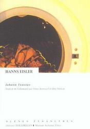 Johann Faustus - Intérieur - Format classique