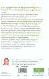 Maladie, Une Memoire Genealogique (La) - 4ème de couverture - Format classique